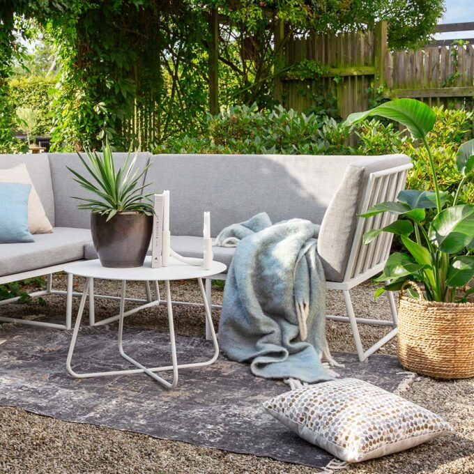 Sofa 2-seter Vence aluminium
