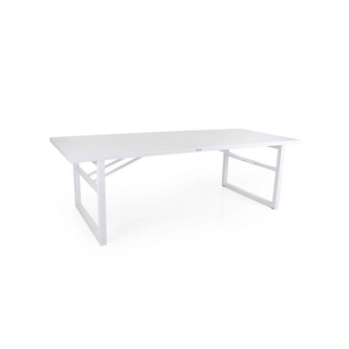 Spisebord Vevi hvit 230x95 cm
