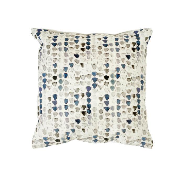 Pyntepute Bertrix blått mønster