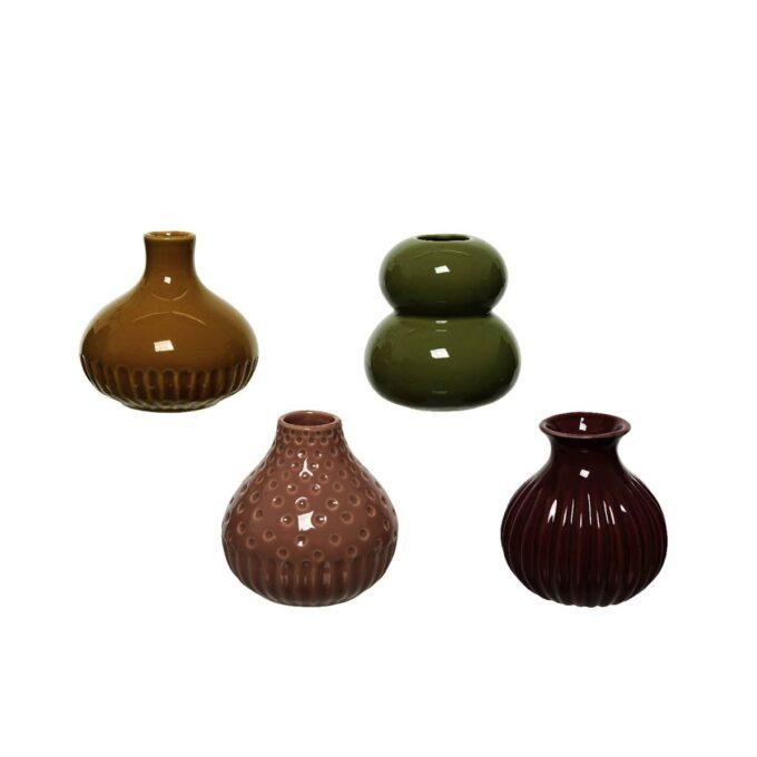 Små vaser i ass farger og str