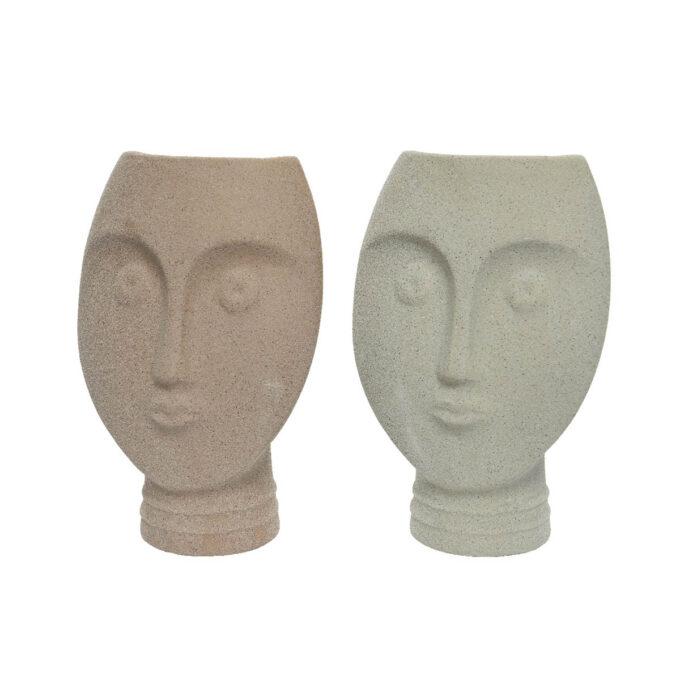 Vase ansikt 22cm høy