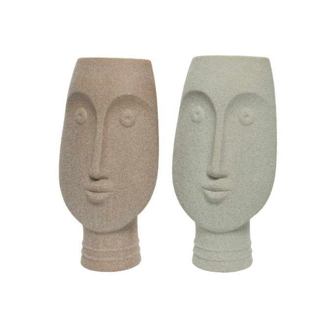 Vase ansikt ass 31 cm høy