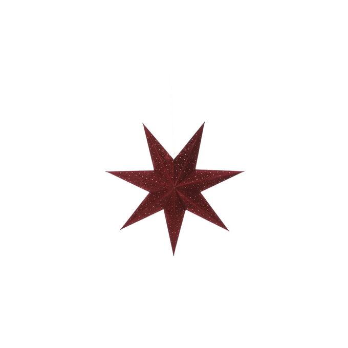 Adventstjerne bordeaux Diameter 45 cm