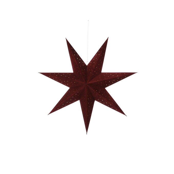 Adventstjerne bordeaux Diameter 60 cm
