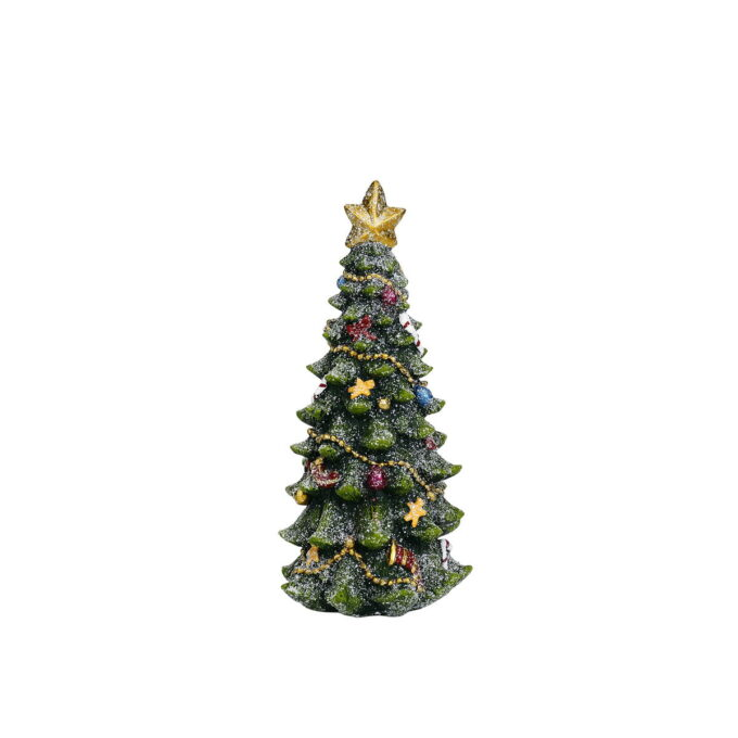 Julepynt juletre Høyde 21 cm