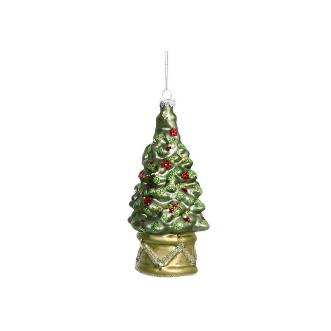 Dekorativt juletre til å henge på juletreet!
