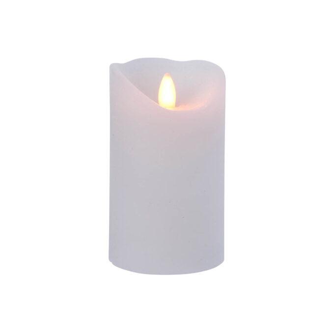 Kubbelys LED Hvit 12 cm
