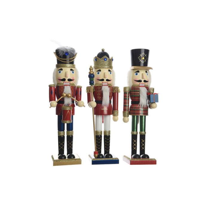 Nøtteknekkerne hører til julen! Finnes i flere størrelser. Her får du den i 50 cm høy.