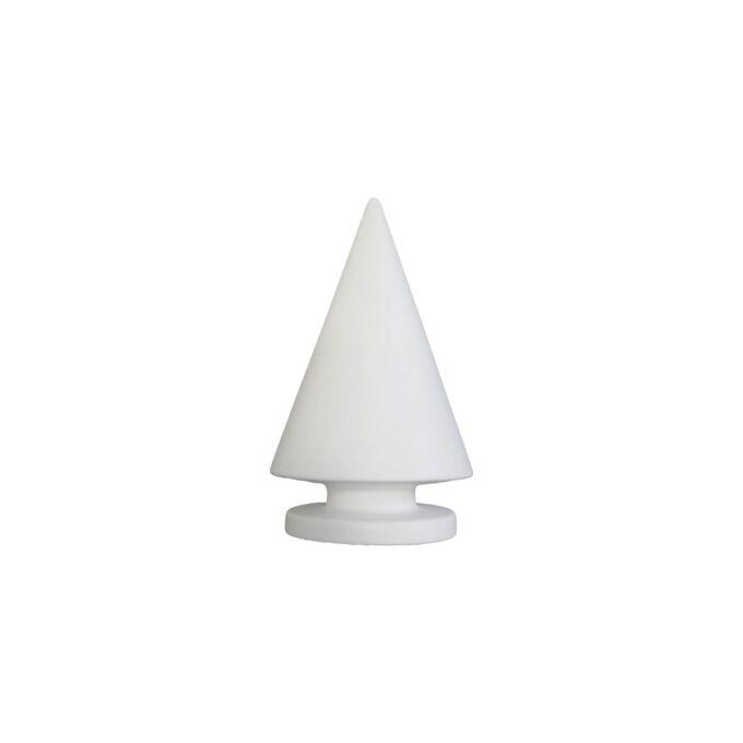 Juletre fra dbkd Xmas hvit 16 cm høy diameter 10 cm