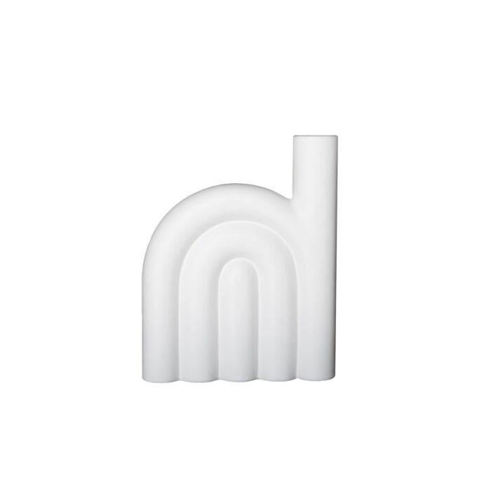 Vase Rope fra dbkd hvit Høyde 25 cm