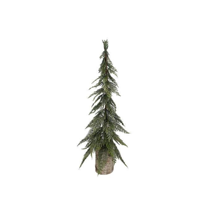 Julepynt glitter gran Diameter er 25 cm Høyde er 90 cm