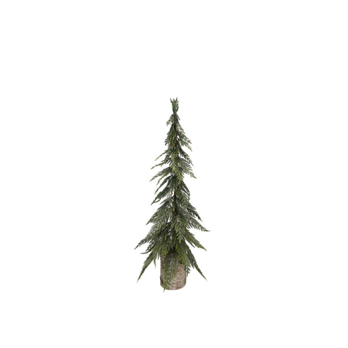 Julepynt glitter gran Diameter er 20 cm Høyde er 70 cm