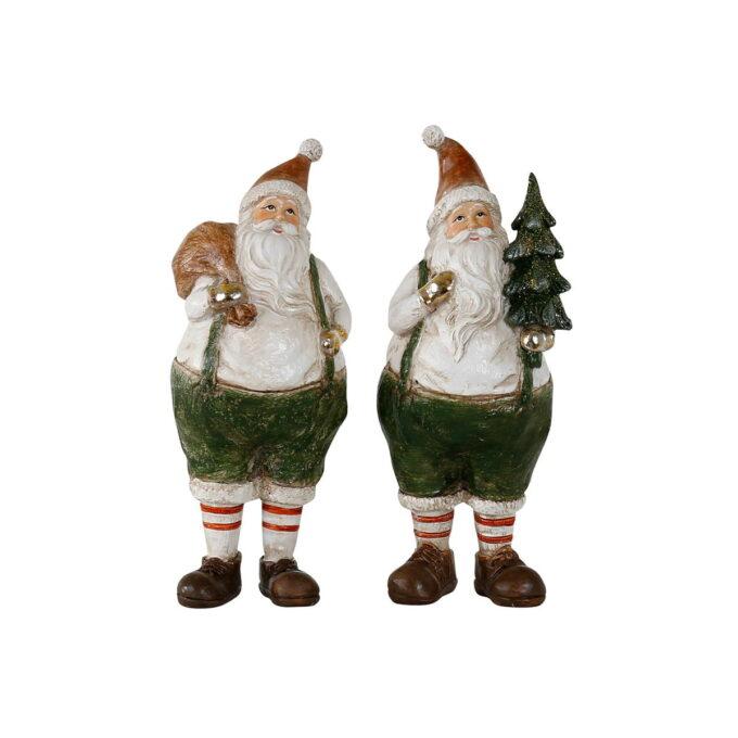 Julenisse i assortert utgaver , høyde 18 cm.