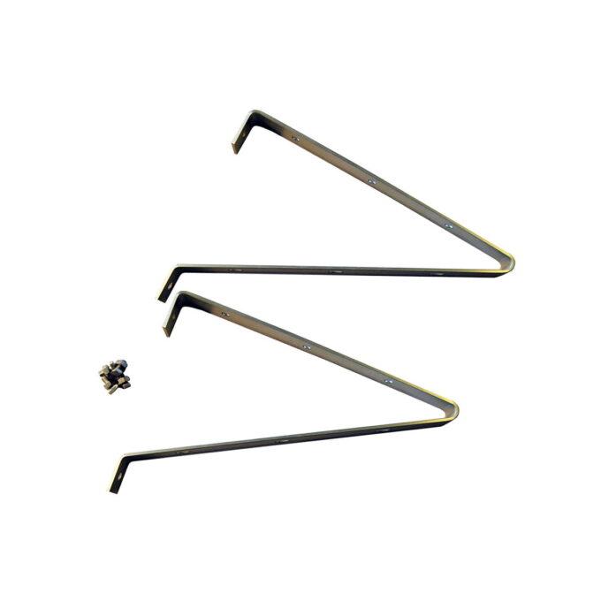 Hylleknekter/Braketter til veksthus - 2 pr pk