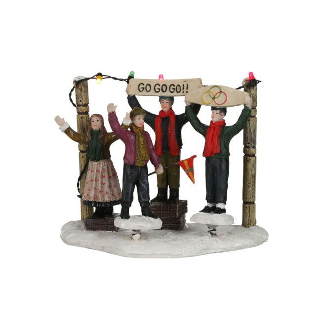 Juleby heiagjeng En fin heiagjeng til de flinke utøverne. Hører til Luville orginaleserien, som er samleserien til Luville.