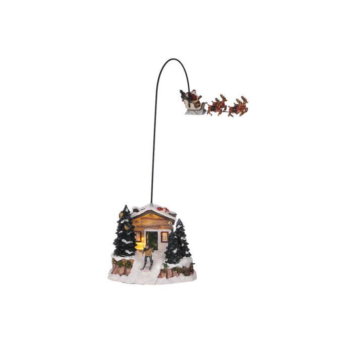 Juleby juelnisse flyr over huset Luville Hører til Luville orginaleserien, som er samleserien til Luville.