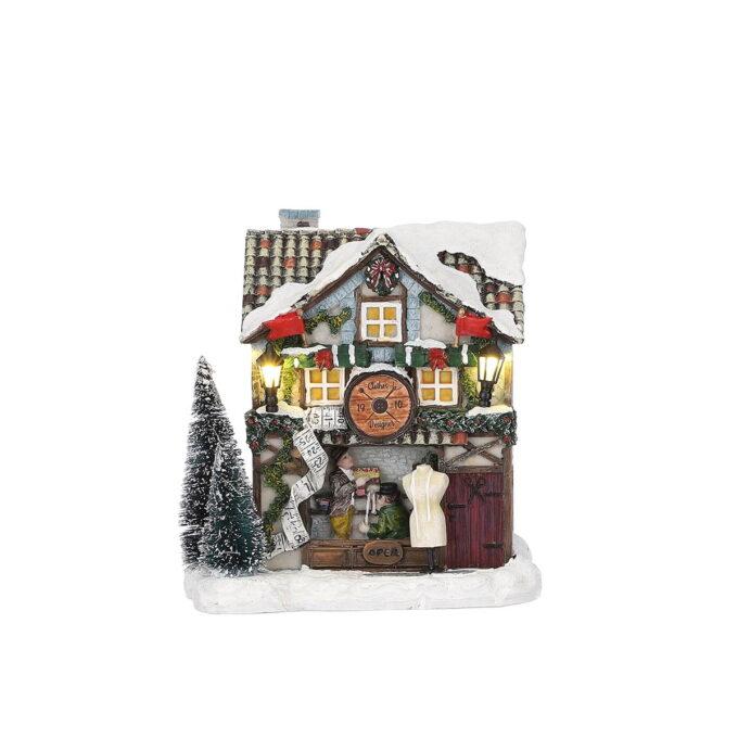 Juleby klesbutikk Luville Hører til Luville orginaleserien, som er samleserien til Luville.