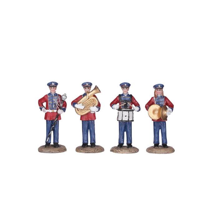 Mennesker som spiller instrumenter!Hører til Luville orginaleserien, som er samleserien til Luville