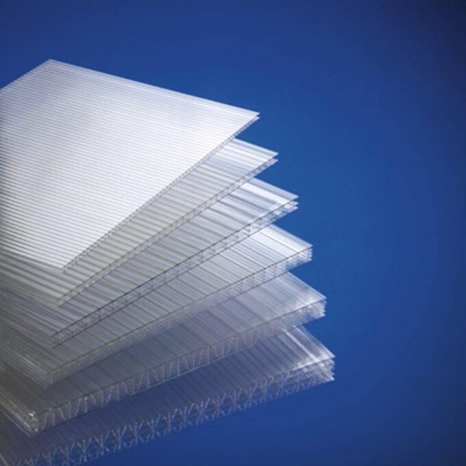 Polycarbonat plate 612 x 1203 - 4mm