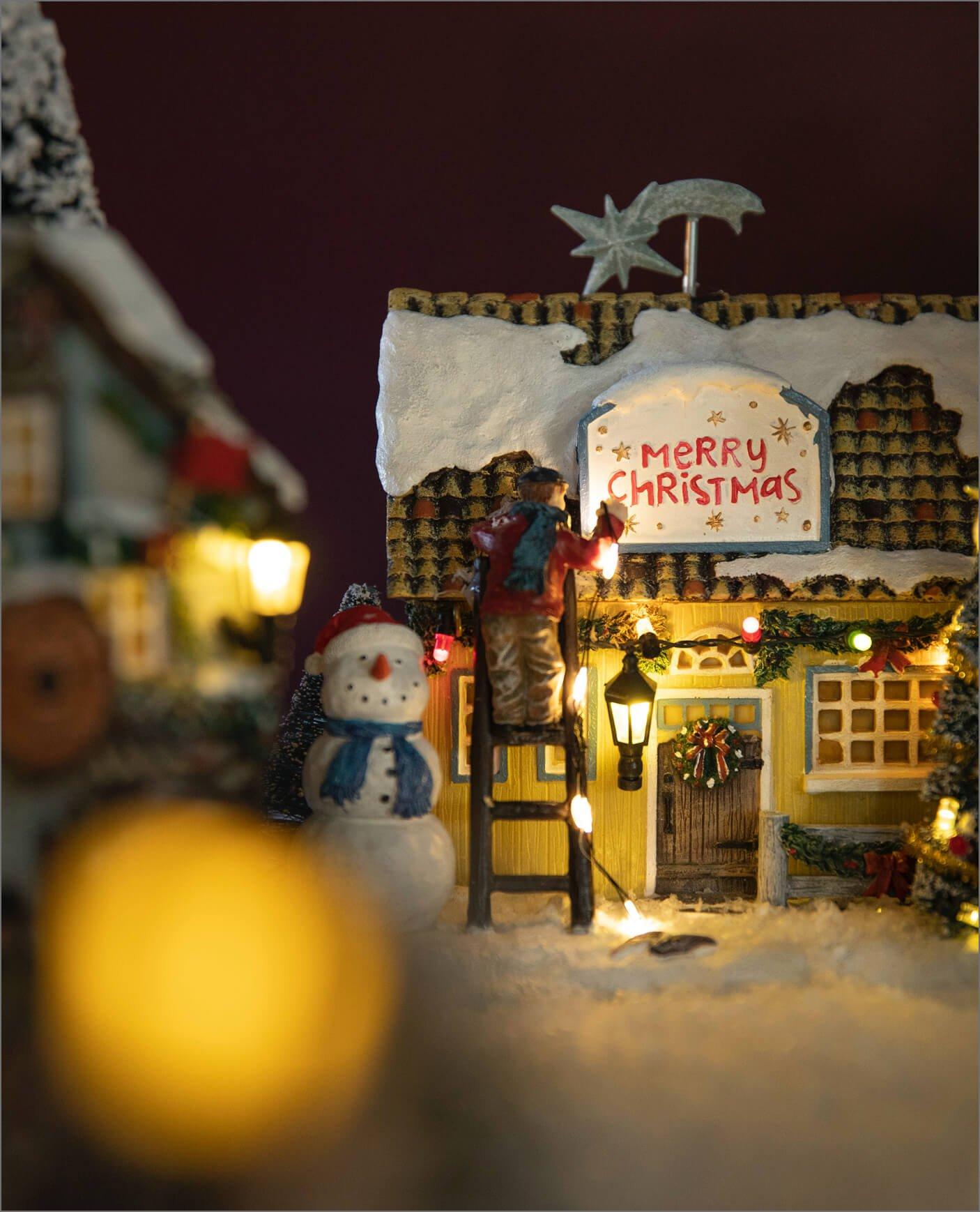 Koselig hus i juleby-serien