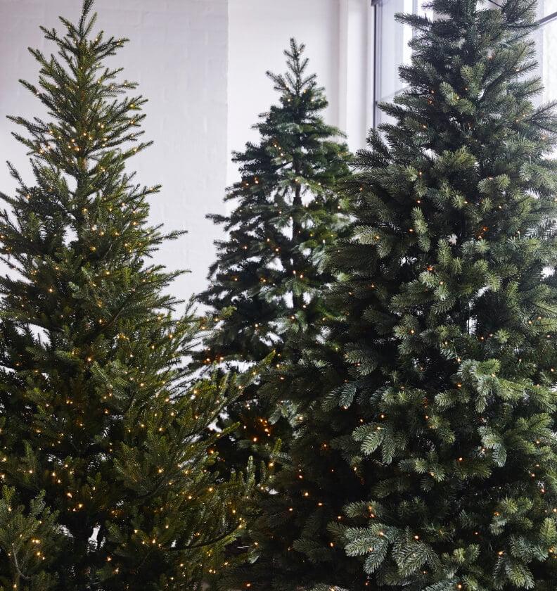 Kunstig juletre i serien Filefjell, Bjorli og Rana