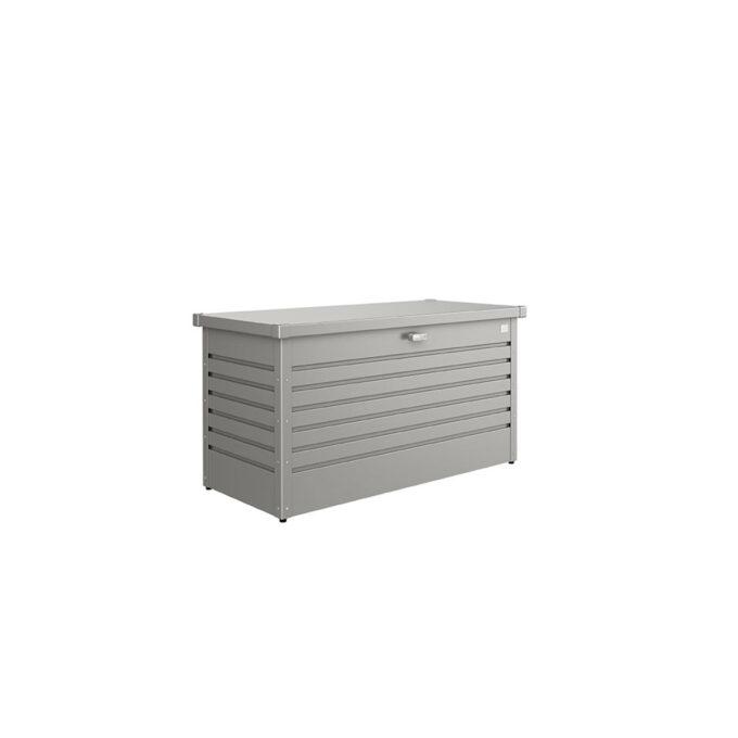 Putekasse Biohort, 460 l, kvarts grå, vanntett og ventilerende, 20 års garanti, vedlikeholdsfri