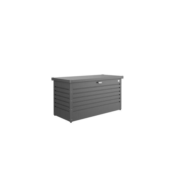 Putekasse Biohort 460 liter, mørk grå, vanntett og ventilerende, 20 års garanti, vedlikeholdsfri