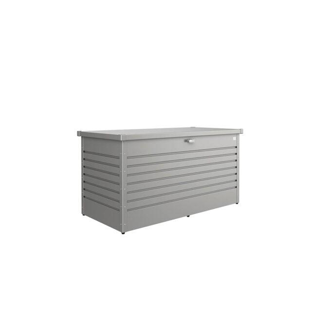 Putekasse Biohort høy, 830 l, kvarts grå, vanntett og ventilerende, 20 års garanti, vedlikeholdsfri