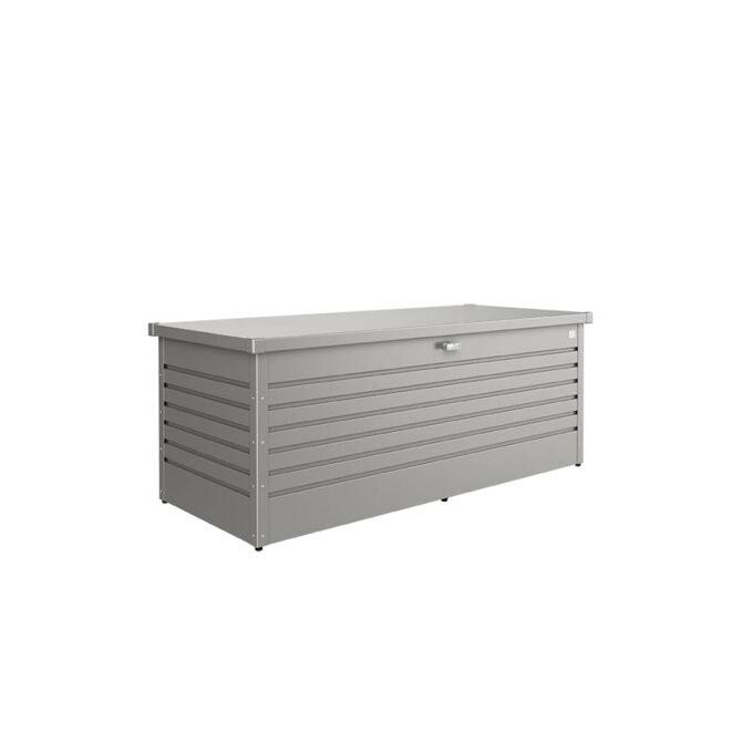 Putekasse Biohort, 800 l, kvarts grå, vanntett og ventilerende, 20 års garanti, vedlikeholdsfri.