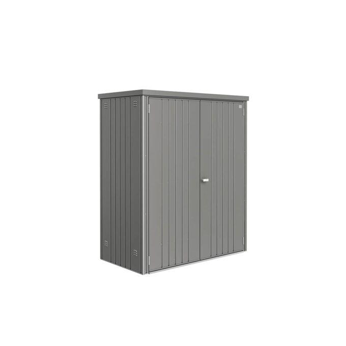 Redskapsbod str 182,5x83x155, kvarts grå, elegant design, vedlikeholdsfri, 20 års garanti.