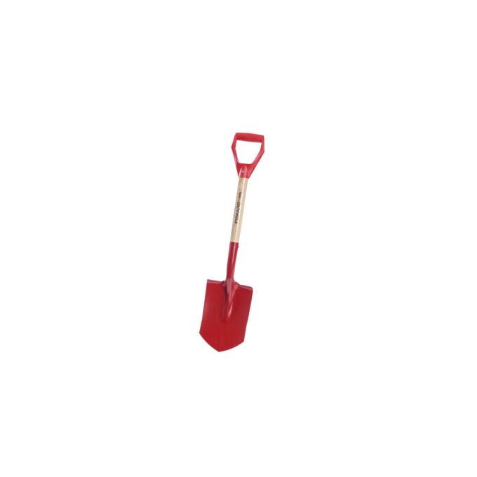 Classic Spade Spiss Stor er en effektiv og kraftig spade. Med den spisse enden penetrerer den hard og steinete jord effektivt