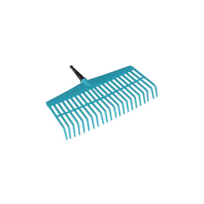 Plenrive med kraftige tenner til raking av løv, B 43cm, passer til ale GARDENA Combisystem-skaft