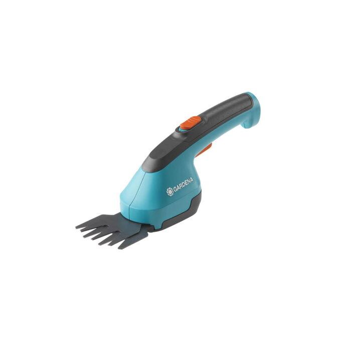 Plenkantene kan formes perfekt med denne kompakte gresstrimmeren. Det ergonomiske håndtaket sørger for enkel håndtering og styring av dette brukervennlige batteriredskapet.