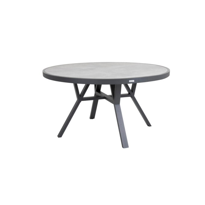 Spisebord Samvaro Ø140 antrasitt