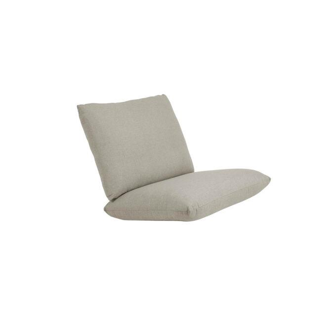 Trekk til Blixt stol i beige farge. Trekket er i olefinstoff med vannavisende belegg på innsiden.