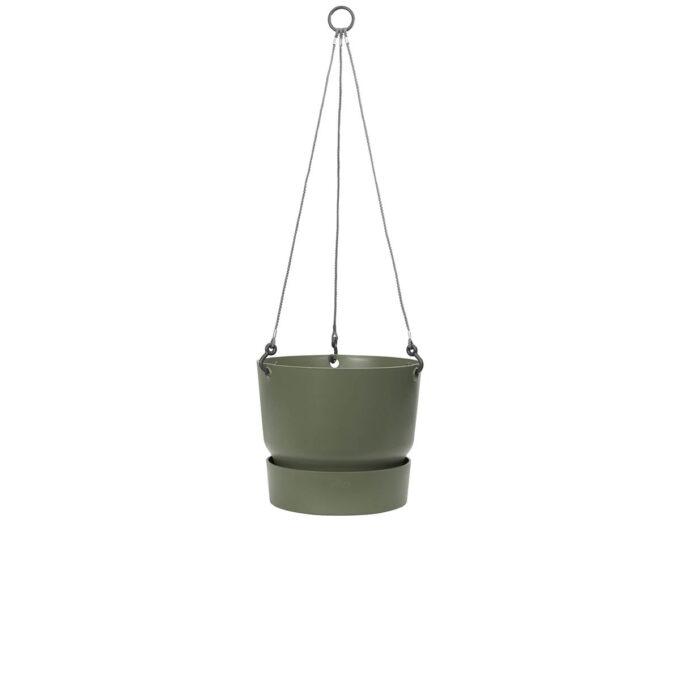 Hengepotte med vannreservoar løvgrønn