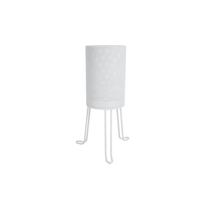 Kul lampe i hvit aluminium. Passer godt til Blixt serien, da den har en performert design.