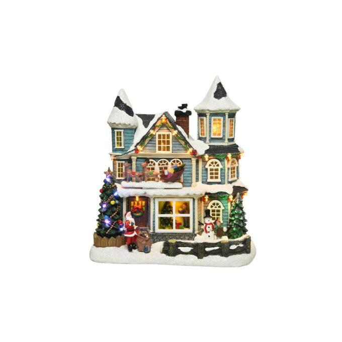 Her vil vi flytte inn! Treet er pyntet, julesnøen har lagt seg og nissen har ankommet i sleden sin. Med musikk og bevegelse.