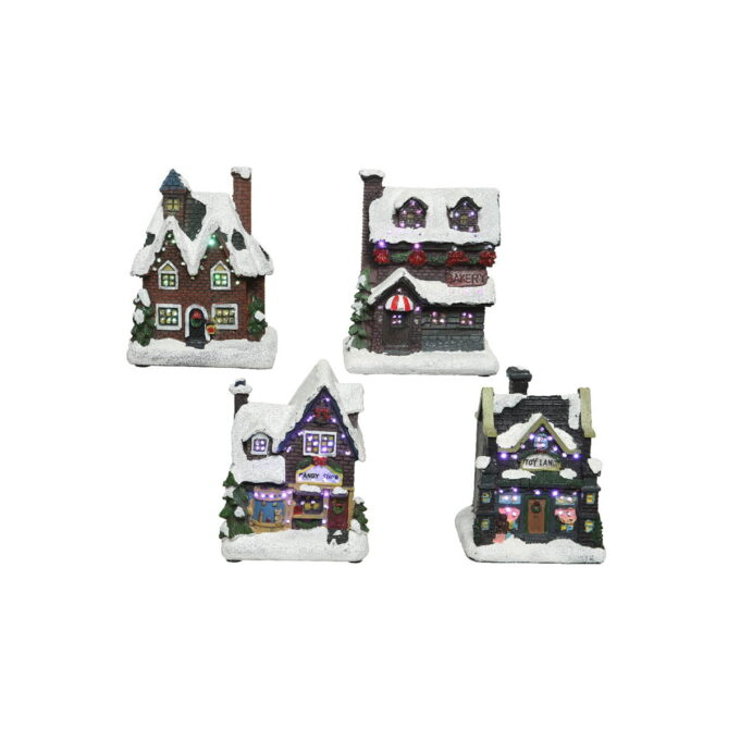 Snødekte, stemningsfulle hus som passer fint både alene eller i gruppe. Pris pr stk.