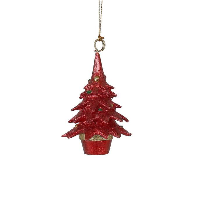 Koselig juletre som passer fint på treet eller i vinduet sammen med noen av de andre figurene i samme serie.