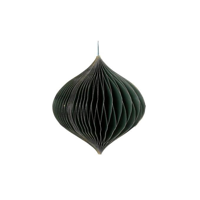 Elegant julepynt i FSC-sertifisert papir. Nydelig på et festdekket bord, enten alene eller flere sammen. Finnes også i høyde 40 cm.