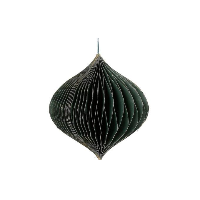 Elegant julepynt i FSC-sertifisert papir. Passer fint i vinduet eller liggende på bordet eller skjenken. Finnes også i høyde 30 cm.