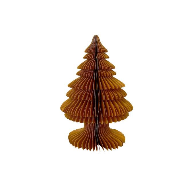 Elegant julepynt i FSC-sertifisert papir. Nydelig på et festdekket bord, enten alene eller flere sammen. Finnes også i høyde 30 cm.