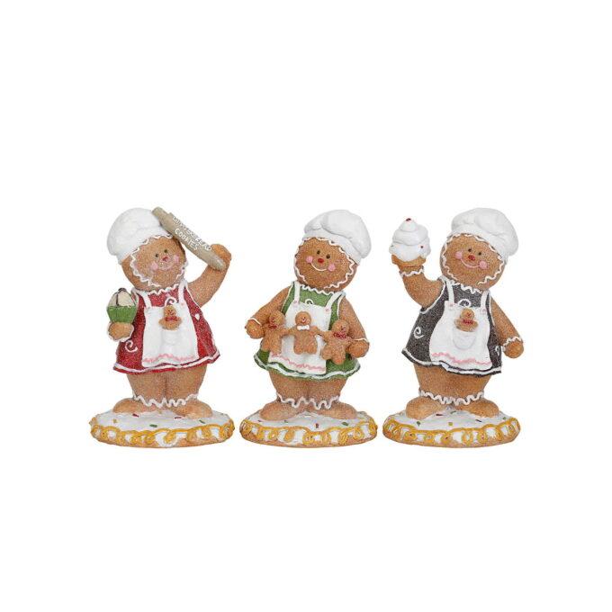 La disse sjarmernde bakerne stå for julebaksten i år. Pris pr stk.